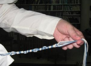 The Message of the Blue and White of Tzitzit and How To Remove Anti-Semitism--For the Zechut of the ...